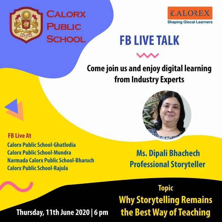 CPS  brings you, a series of powerful talks aimed at spreading thoughts from India's most inspired thinkers, with the community of curious minds to engage and connect with each other.  Thursday 11th June -6 pm Live on www.facebook.com of CPS schools.  #cps #Fblive #Parents #Students #learning #Engagement #Education #IndustryExperts #kalorex #Yali HO !