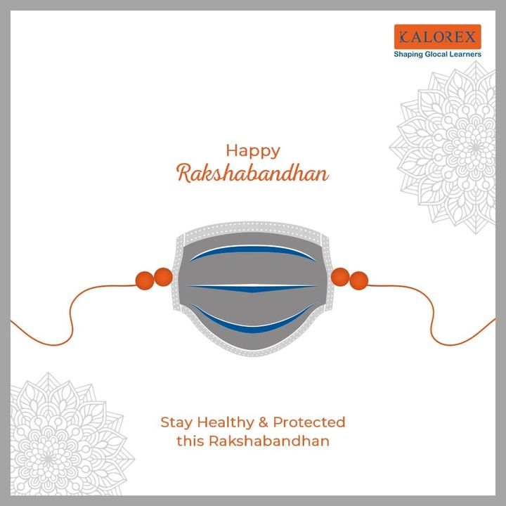 A thread of love which binds our heart and life and makes the bond of togetherness stronger.  Happy Raksha Bandhan!