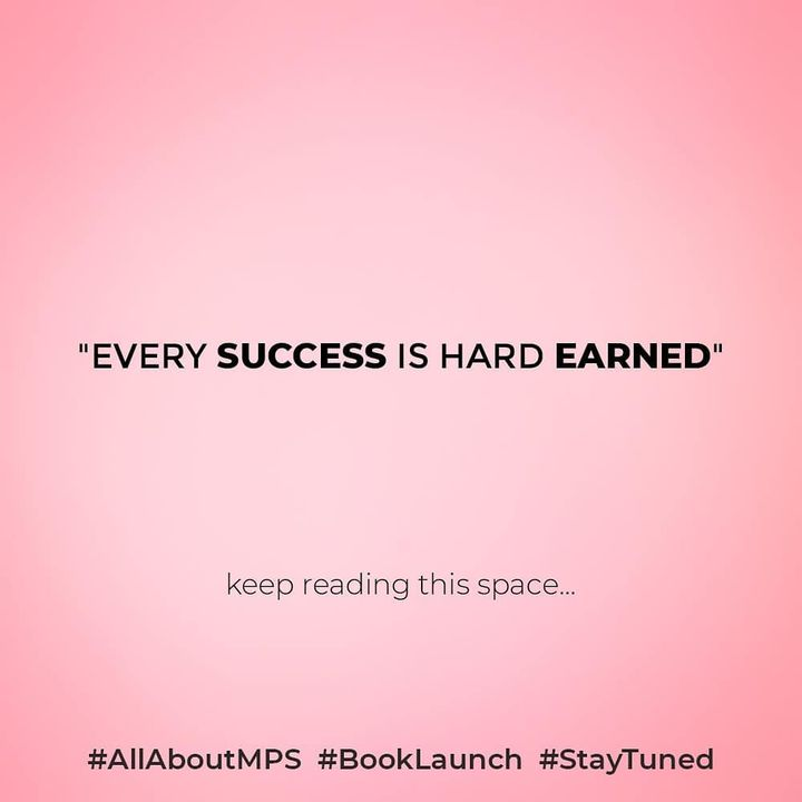 Stay tuned for more information...  #allaboutMPS #BookLaunch #Statuned  #tgif #weekend #weekendloading #newness #books #readers #myspace #metime #dedication #SHROFFism #manjulapoojashroff #MPS