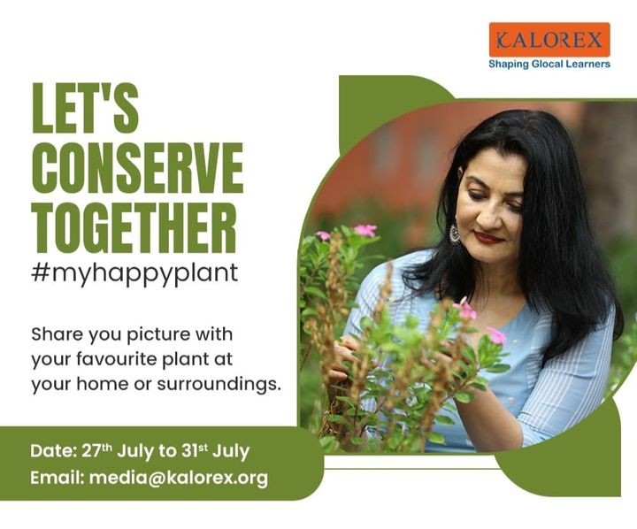 Nature Conservation Day : Observed on July 28 annually, World Nature Conservation Day acknowledges that a healthy environment is the foundation for a stable and healthy society. Earth's natural resources include air, minerals, plants, soil, water, and wildlife.   Share your picture with your favorite plant at your home or surroundings. #myhappyplant   #myhappyplant #nature #environment  #WorldNatureConservationDay #DPSBopal #cps #COIS  #VisamoKids #prerna #ekal #Kalorex #MyHappyPlant  #manjulapoojashroff #SHROFFism #MPS #YaliHo