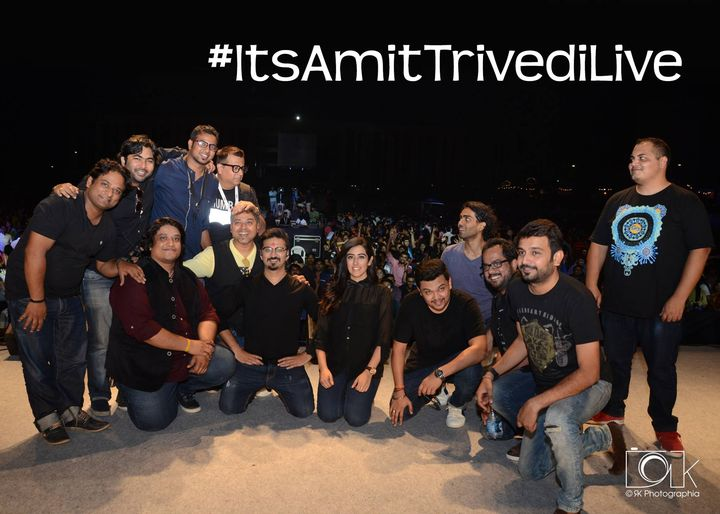 Thank you Donors. Yet another successful completion of Benefit Concert for #VisamoKids  AMIT TRIVEDI : Singer Composer  #LOVEYOUZINDAGI #ITSAMITTRIVEDILIVE