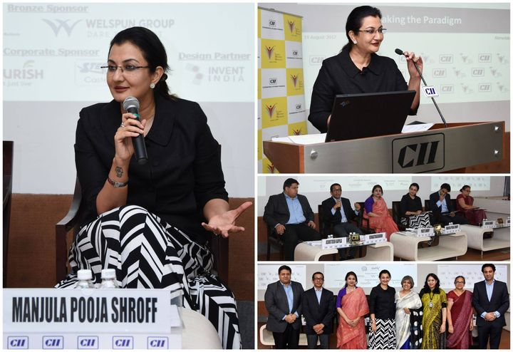 "Discussed the movement towards becoming a gender equal world @ ""Breaking The Paradigm"" conference organized by CII-(IWN)  #MPS #Edupreneur #CII"