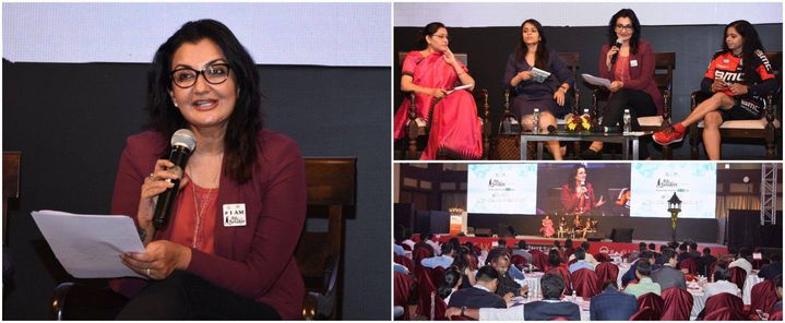 Moderated the panel discussion- The Game Changer: Women Leaders of New India,@ the Yi National Summit 2017 PathBreaker.   #MPS #Edupreneur #YoungIndians #YiPathBreakers2017