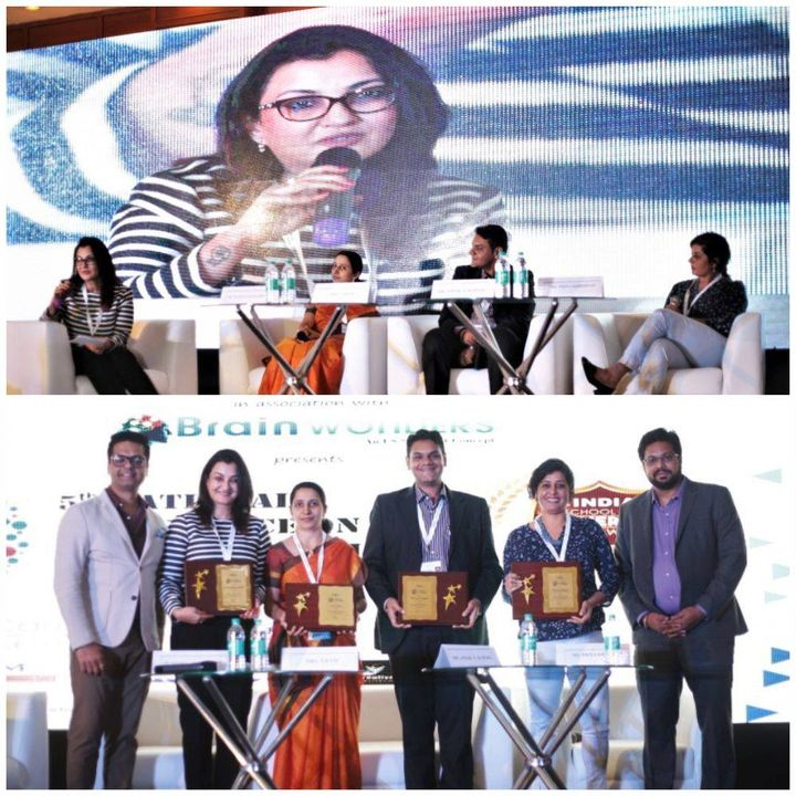 Chaired the panel discussion on sensitizing Early Learning environment & safety of kids.  #EducationToday #5thNationalConference #Bengaluru #MPS #Edupreneur