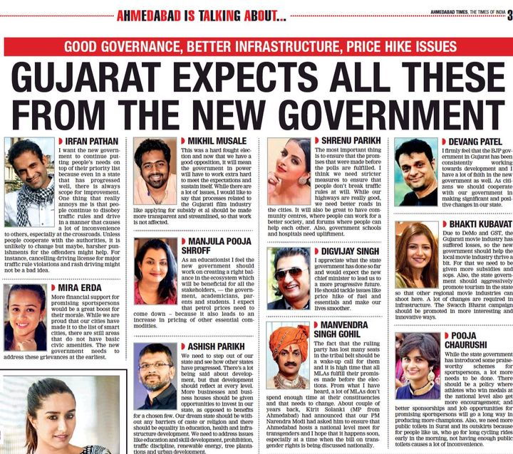 My expectations from the new government #TOI #MPS #Eduprener