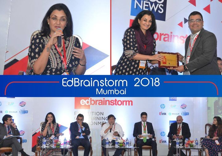 Discussed the evolution & future of Learning Environments at the #EdBrainstorm 2018 #MPS #Kalorex #FutureofLearning