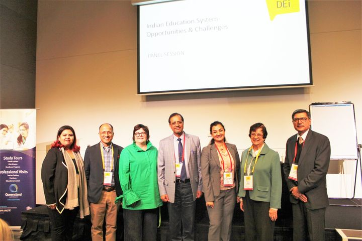 Discussed the opportunities & challenges in the Indian Education System at the #Queensland DEi Conference held in Brisbane, Australia #MPS #Kalorex