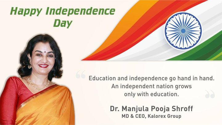 An Independent Nation grows only with education  #HappyIndependenceDay #India #MPS #education #Kalorex