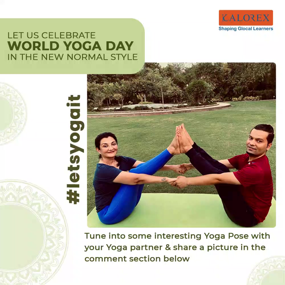 With International Yoga Day just round the corner, we urge every one of you to awaken your love for yoga because no one is too young or too old to do yoga!  Let us celebrate this Yoga Day in a new light making the most of the virtual means.   All you need to do is revive, reinvent and flaunt your yoga poses! Capture Yoga pictures specially with your Yoga Partner and share it in comment section!  #staysafe #StayHealthy #letsyogait   #letsyogait #yogaday #internationalyogaday #yogaislife #yogaisawayoflife #letsdoyoga #flauntyouryogaposes #healthyliving #manjulapoojashroff #SHROFFism  #kalorexgroup #yforyoga #yogavideos #yogawithmps #MPS