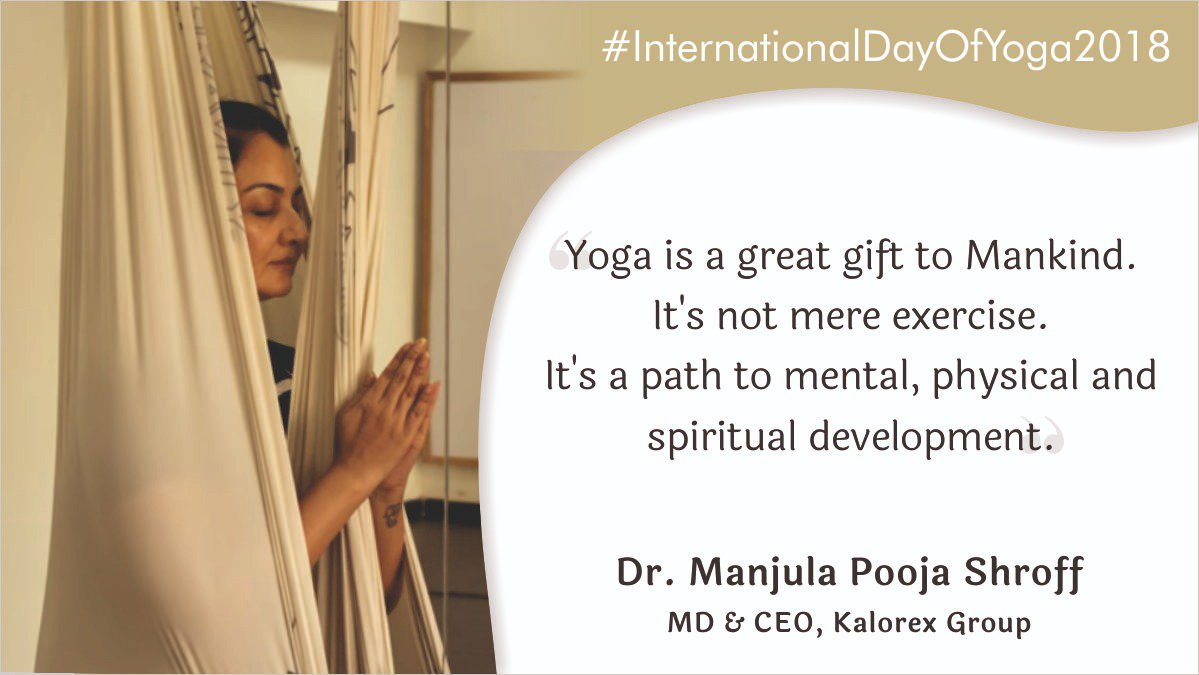 #Yoga is a great gift to Mankind #MPS #Kalorex #InternationalYogaDay2018 #InternationalDayofYoga2018 #4thYogaDay #IDOY2018 https://t.co/9NLJX8lyBw