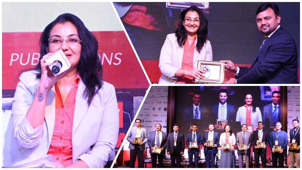 Moderating session on 'Adjustment vs Variety - 21st century leadership problem' at the 12th World Education Summit 2018 #MPS #WES2018 #Kalorex https://t.co/6QVl38n6yx
