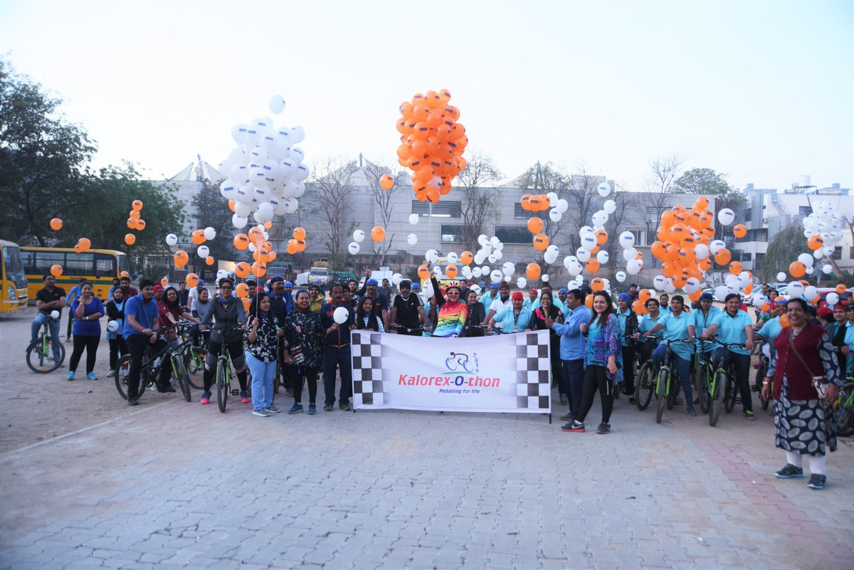 The #24thKalorexDay began with a move towards a healthier and greener lifestyle - #KalorexOthon2019. Yali Ho! #MPS #Kalorex #cycling #fitness https://t.co/bbP66GE8JT
