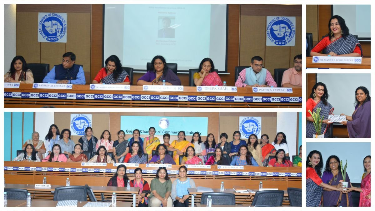 Was invited as Chief Guest for the installation ceremony of BWW @GCCIAhmedabad. Ms. @phanitrivedi as chairperson for the year 2019-20. Kudos and best wishes to team BWW for constructive and progressive work.  #MPS #Kalorex #BWW #GCCI #Ahmedabad https://t.co/zXaJabX9Of