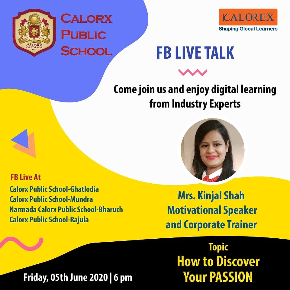 CPS  brings you, a series of powerful talks aimed at spreading thoughts from India's most inspired thinkers, with the community of curious minds to engage and connect with each other.  Friday 5th June -6 pm Live on https://t.co/1d6EGRBKSq of CPS schools.  #cps #Fblive https://t.co/GyQkzErg7q