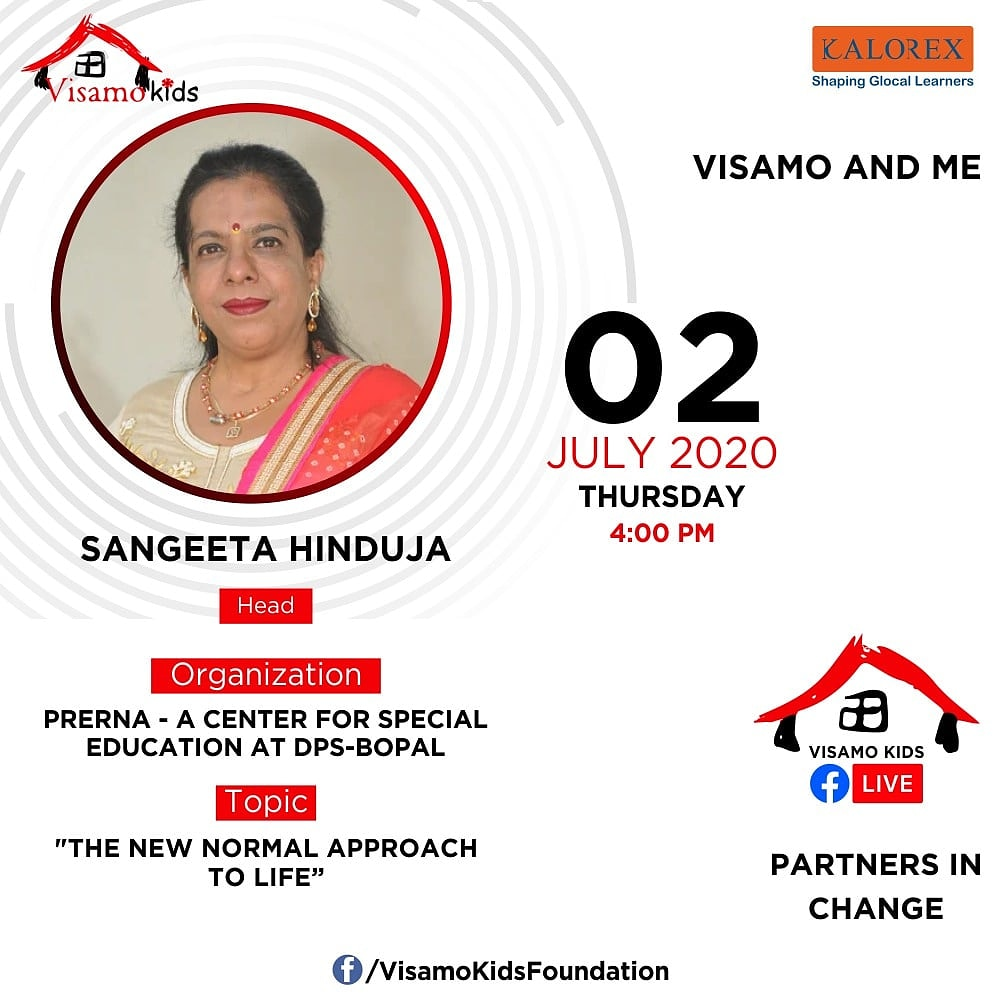 Visamo Kids Foundation- A shelter home in Bopal, Ahmedabad, housing underprivileged kids selected from across the state, brings to you all, a series of powerful talks by Visamo Parivaar.   #education  #empowerment #VisamoSpeakSeries #partnersinchange #childrenwithspecialneeds https://t.co/JF34dFCWUR