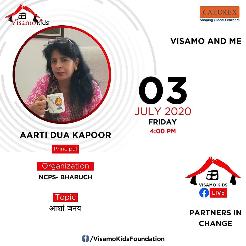 Visamo Kids Foundation- A shelter home in Bopal, Ahmedabad, housing underprivileged kids selected from across the state, brings to you all, a series of powerful talks by Visamo Parivaar.   #education #ShareWithPride #empowerment #VisamoSpeakSeries #partnersinchange #Kalorex https://t.co/STZFSBOWSm