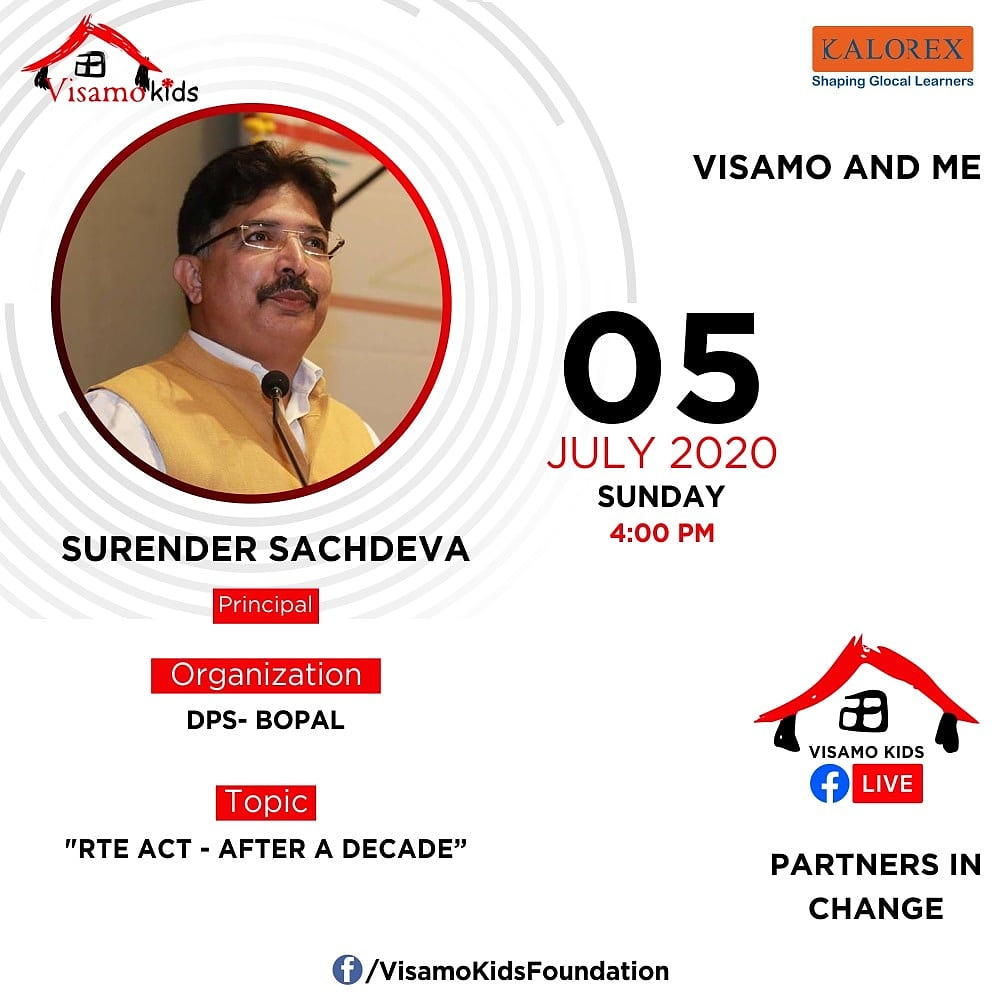 Visamo Kids Foundation- A shelter home in Bopal, Ahmedabad, housing underprivileged kids selected from across the state, brings to you all, a series of powerful talks by Visamo Parivaar.  #VKF #Education #ShareWithPride #Empowerment #VisamoSpeakSeries #PartnersInchange #Kalorex https://t.co/kM2ApjWxed