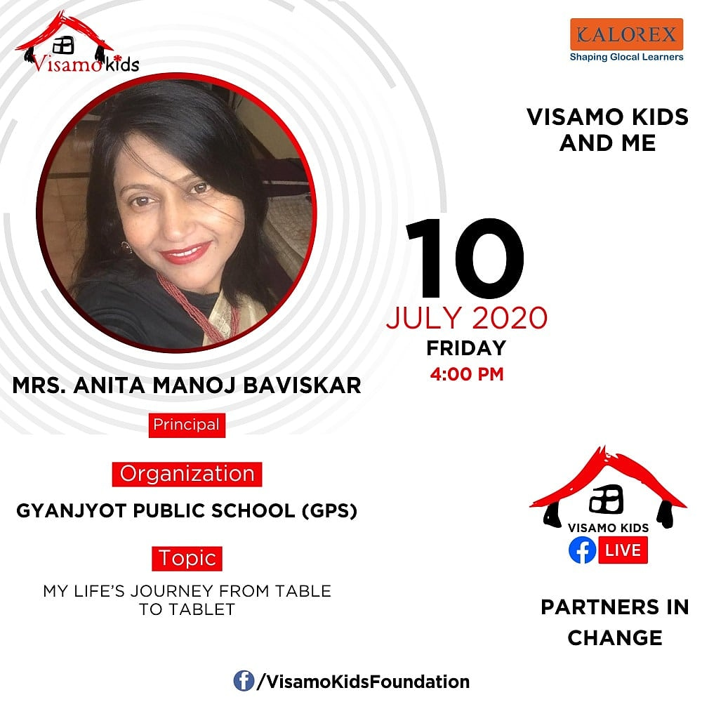 Visamo Kids Foundation- A shelter home in Bopal, Ahmedabad, housing underprivileged kids selected from across the state, brings to you all, a series of powerful talks by Visamo Parivaar. #VKF #Education #ShareWithPride #Empowerment #VisamoSpeakSeries #PartnersInchange #Kalorex https://t.co/TosNlYRnZB