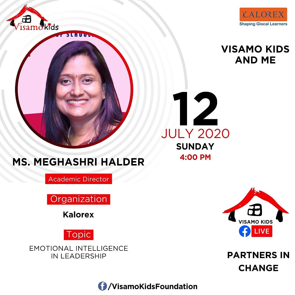 Visamo Kids Foundation - A shelter home in Bopal, Ahmedabad, housing underprivileged kids selected from across the state, brings to you all, a series of powerful talks by Visamo Parivaar. #VKF #Education #ShareWithPride #Empowerment #VisamoSpeakSeries #PartnersInchange #Kalorex https://t.co/0ldyEsTnyj