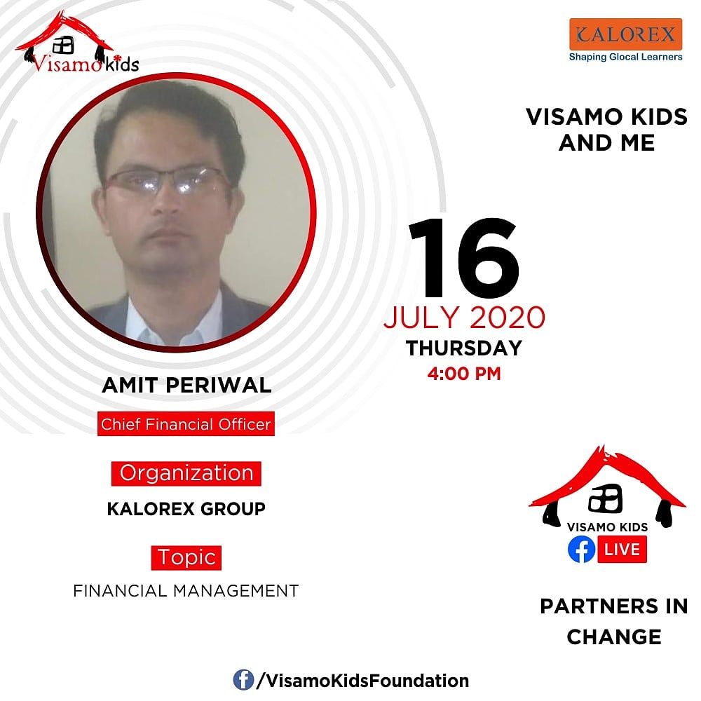 Visamo Kids Foundation - A shelter home in Bopal, Ahmedabad, housing underprivileged kids selected from across the state, brings to you all, a series of powerful talks by Visamo Parivaar.  #PartnersInchange #Kalorex #RTE #PartnershipsMatter #collaboration #financialmanagement https://t.co/yQQAHAjxFv