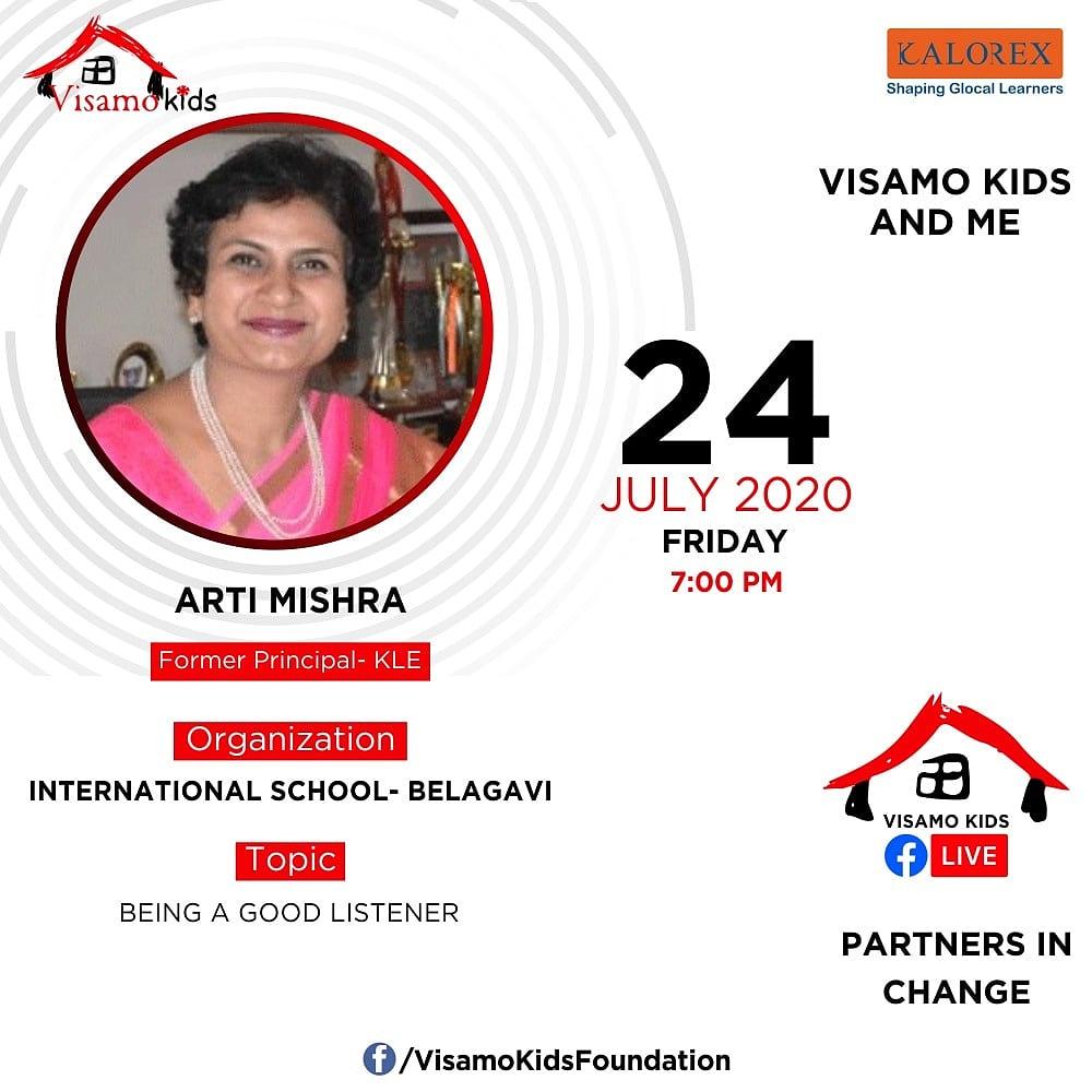 Visamo Kids Foundation - A shelter home in Bopal, Ahmedabad, housing underprivileged kids selected from across the state, brings to you all, a series of powerful talks by Visamo Parivaar.  #PartnersInchange #Kalorex #RTE #PartnershipsMatter #collaboration #shreerajshah #COVID https://t.co/x7qhCV5WtN