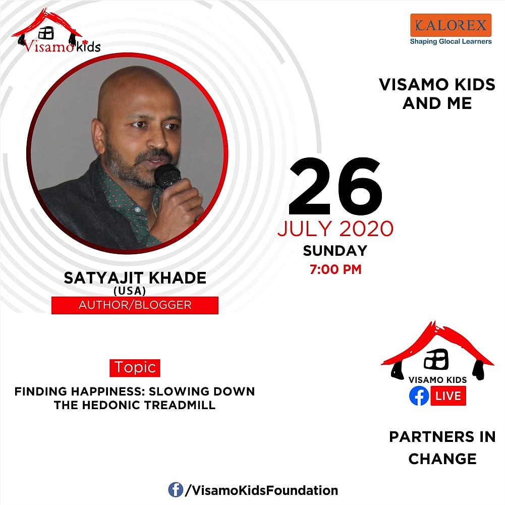 Visamo Kids Foundation - A shelter home in Bopal, Ahmedabad, housing underprivileged kids selected from across the state, brings to you all, a series of powerful talks by Visamo Parivaar.  #PartnersInchange #Kalorex #RTE #PartnershipsMatter #collaboration #COVID19 #newnormal https://t.co/awYQ5ylYOn