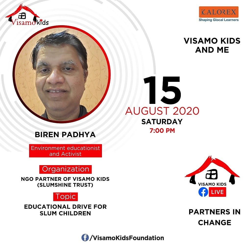 Visamo Kids Foundation - A shelter home in Bopal, Ahmedabad, housing underprivileged kids selected from across the state, brings to you all, a series of powerful talks by Visamo Parivaar.  #PartnersInchange #Kalorex #RTE #PartnershipsMatter #collaboration #NGO #Impact #ngopartner https://t.co/W4FD9lkoAT