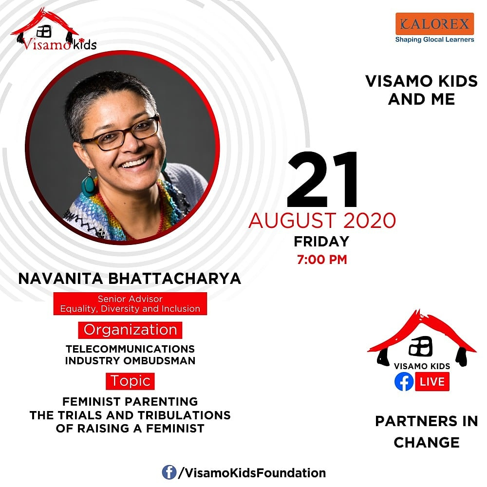 Visamo Kids Foundation - A shelter home in Bopal, Ahmedabad, housing underprivileged kids selected from across the state, brings to you all, a series of powerful talks by Visamo Parivaar.  #PartnersInchange #Kalorex #RTE  #collaboration #COVID19  #navanitabhattacharya https://t.co/LqfE1RaH15