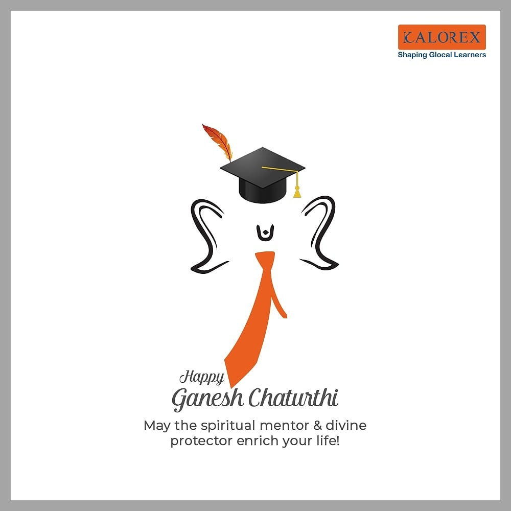 Lord Ganesha epitomises wisdom, knowledge and learning. This Ganesh Chaturthi, we hope and pray that he showers you with his countless blessiings on you. #Festivals #Kalorex #Yali HO! https://t.co/jSntpo4POo