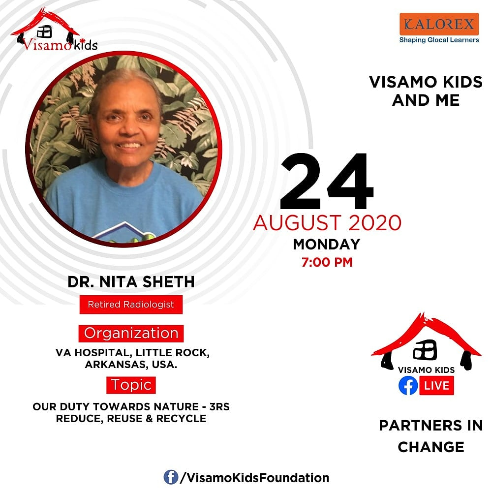 Visamo Kids Foundation - A shelter home in Bopal, Ahmedabad, housing underprivileged kids selected from across the state, brings to you all, a series of powerful talks by Visamo Parivaar.  #PartnersInchange #Kalorex #RTE  #collaboration  #Impact #environmentallyfriendly https://t.co/7ykH7HFVv4