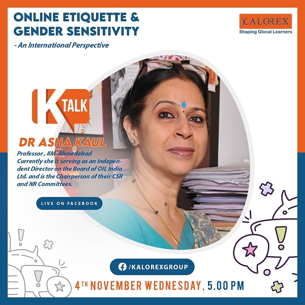 Kalorex Group :  Ktalk, a series of powerful talks devoted to spreading ideas from India's most inspired thinkers, with the community of curious minds to engage and connect with each other:  #Ktalk #Kalorex https://t.co/wXj5orcGGi