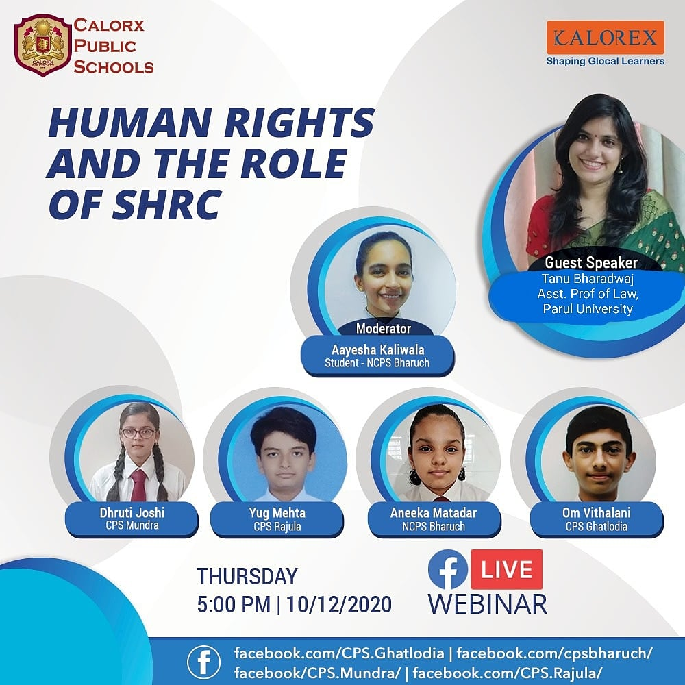 Join today 5pm Webinar on State Human Rights Commission   #OnlineInteraction #Virtual classroom #Kalorex #ncps #Fblive #parents #Students #learning #Engagement #Education #Industry Experts #kalorex #manjulapoojashroff #MPS#Yali HO ! https://t.co/HloKBx32Ep