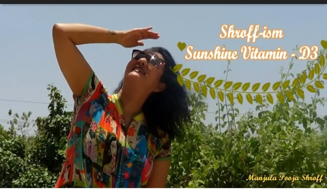 Some latest evidence shows that #VitaminD3 can lower the severity risk of #Covid19. Sunshine is a great natural source of VitaminD3.  Watch this video for more information:  https://t.co/y5Vb4Xb9BD  #sunshine #vitaminD3 #naturalsource #covid19 #manjulapoojashroff #MPS #Shroffism https://t.co/gBpqDvWJC4
