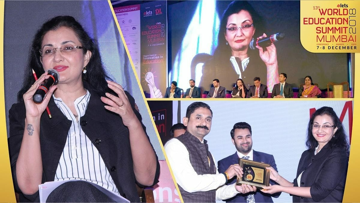 One major thing the lockdown and days after taught us was operating 'online'. From teaching to hobby classes, discussions to conferences, all was via laptops. Looking forward to this year bringing back the magic of 'offline' participation. #worldeducationsummit  #throwback #MPS https://t.co/9WX8bfiBux