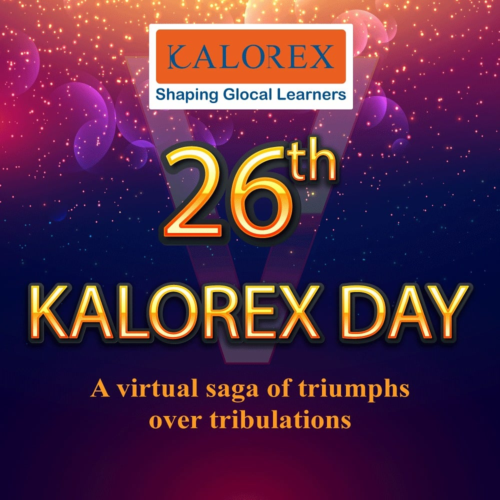 Kalorex Day evokes myriad of emotions. Right from the Foundation day to the 26th year the celebration of triumphs over tribulations has been the key factor of this event.  #kalorex #Staffengagement #Respect #Reward #Recognition #virtualsaga #MPS #Manjulapoojashroff #Shroffism https://t.co/M3J1lh1y6W