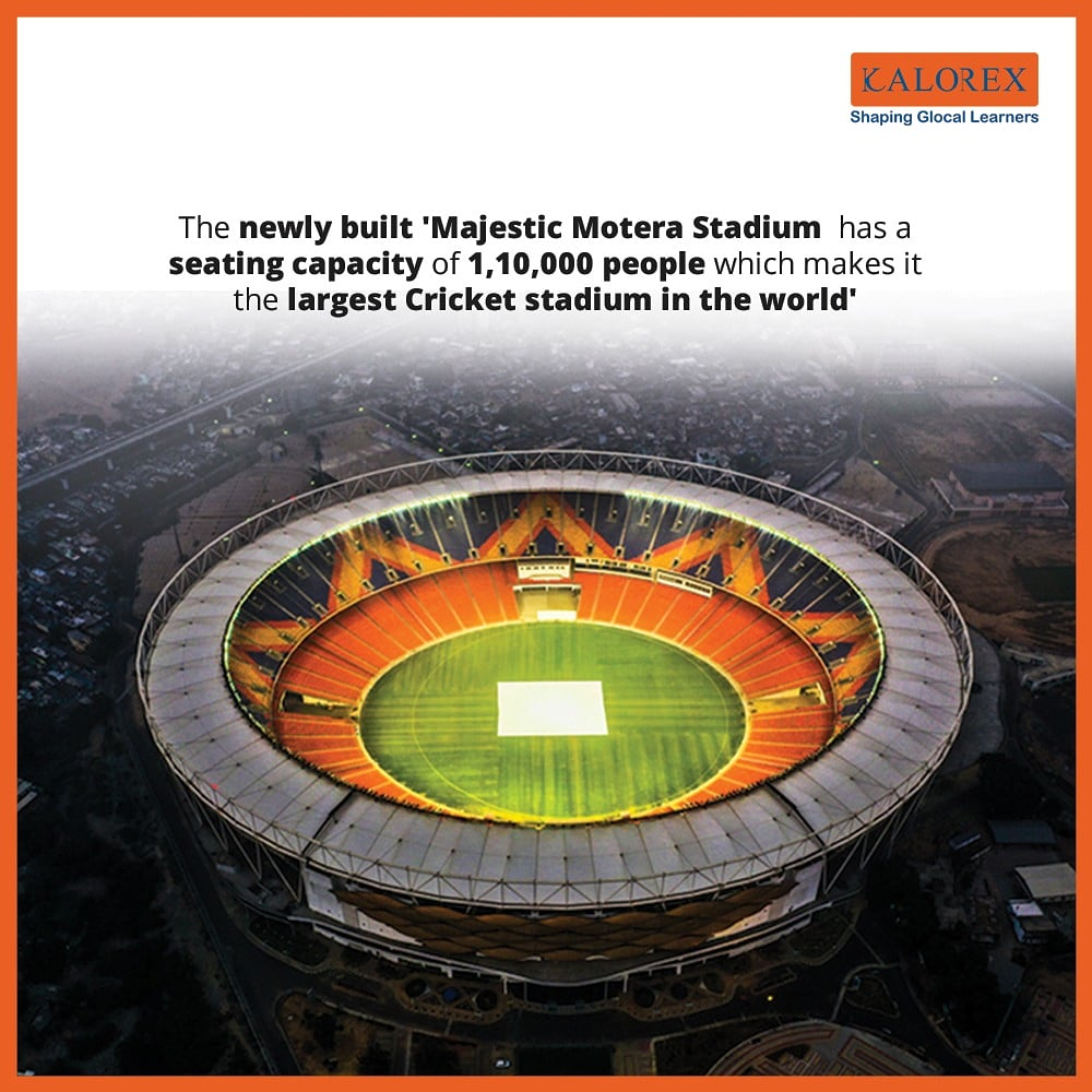 World Heritage City, Ahmedabad is now set to become the city that boasts of the World's Largest Cricket Stadium. The cricket fever is at its peak after a long time... Proud moment for