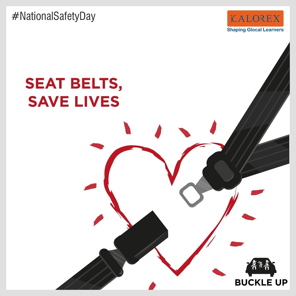 Buckle up as seat belts save lives. More than 3 out of 4 people who are ejected during a fatal crash die from their injuries. Seat belts save thousands of lives each year. #buckleup #manjulapoojashroff #Kalorex #cps #students #SHROFFism #MPS #DPS #Visamokids  #seatbelts #lives https://t.co/JkW6rbwm6q