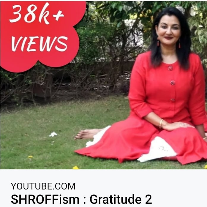 Gratitude essentially means accepting and appreciating all the beautiful things, that has been bestowed on us. Watch Shrofffism Video On Gratitude 2.  https://t.co/XnMBqqEDxh  #SHROFFism #gratitude #MPS #acceptance #appreciate #manjulapoojashroff https://t.co/S2Z6asArvi