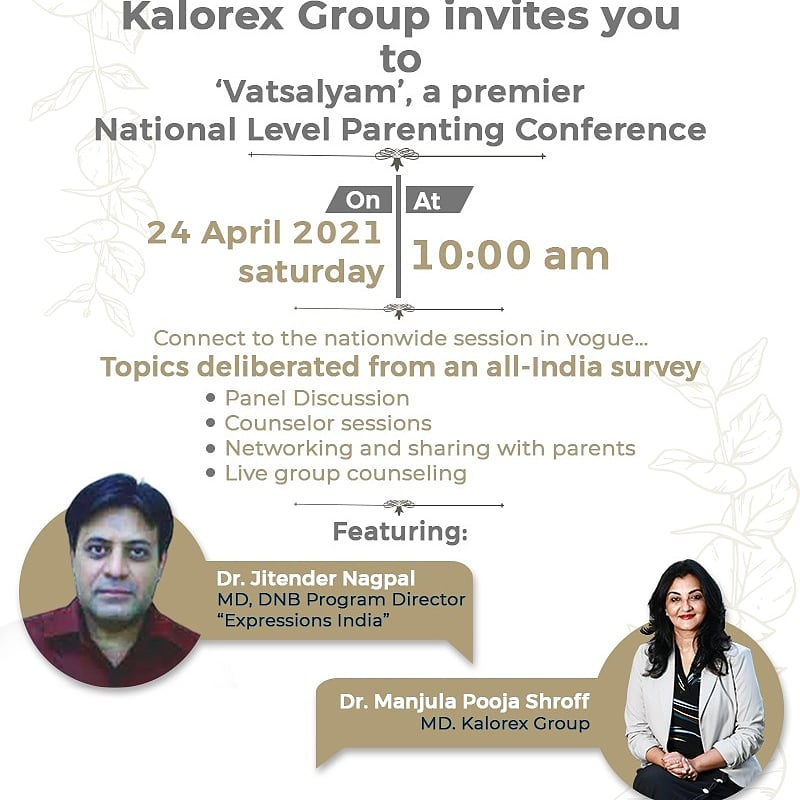 Coming, this Saturday !! JOIN US..  A National Parenting Conference.  A virtual initiative by the Kalorex Group, to add value to your parenting skills specially during  these unprecedented times.  *Register Now* https://t.co/wdvCABrXWw Email –events@kalorex.org  #parenting #MPS https://t.co/D0n7apfY64