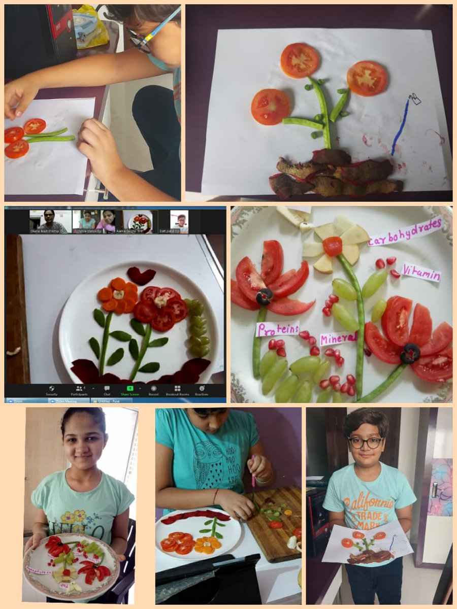 Vegetable craft activity - Class VI - Science-Prerna -Dps Bopal  Art and Craft integration activities promotes the learning process for the students with special learning needs.   #artandcraft #integration #learning #concepts #SLN #motorskills  #prerna #DPSBopal #Kalorex #MPS https://t.co/qRIVgSjntw