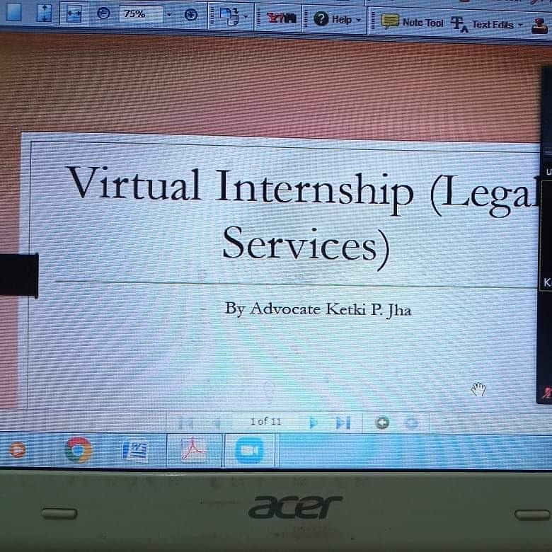 Delhi Public School- Bopal, organised a 'Virtual Internship in Legal Services' for students of class X. This virtual internship was an impetus to drive students towards their goal. #virtualinternship #careeropportunities  #School #Students #Teachers #DPSBopal #Kalorex #MPS https://t.co/no3T4xs5kL