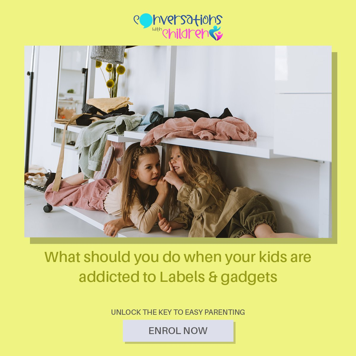 The clothes, shoes and gadgets  that are in trend today will be obsolete tomorrow. But, how do we make our children understand that ? LEARN MORE https://t.co/Z1ajAUcJNP  #parenting #children #onlinecourse #newparents #newmom #understandingkids #parentingproblems #parentinghacks https://t.co/Jf3UGfzX3x