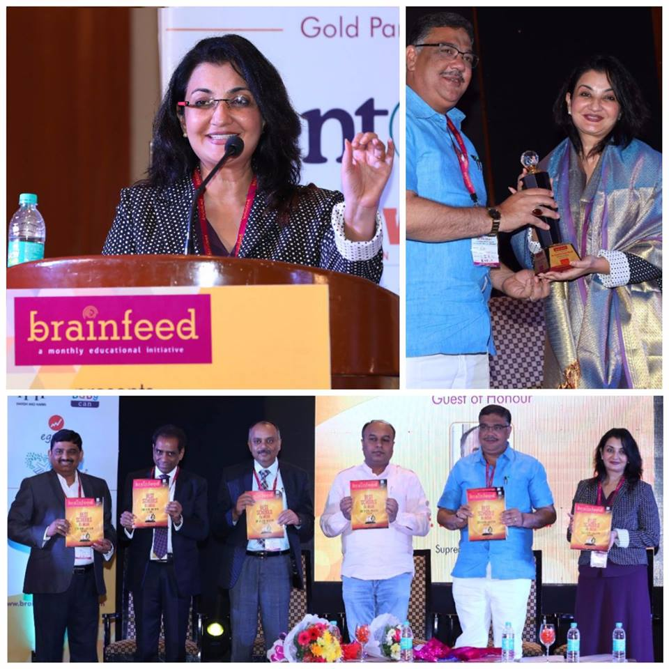 Inauguration & Book release with Hon'ble Minister, Sri Tanveer Sait and talk on Rapid & Radical changes in School Education at the 5th National Conference on Teaching, Learning & Leadership by Brainfeed  #MPS #Edupreneur #Brainfeed #5thNationalConference https://t.co/5cnQKf2YvW