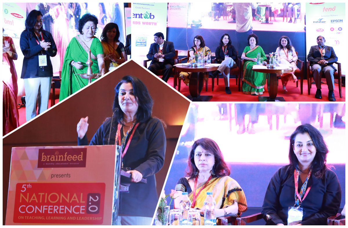 Spoke about the rapid & radical changes in School Education #Brainfeed #5thNationalConference #Pune #MPS https://t.co/omOnt7IIVt
