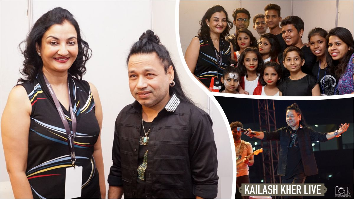 Thank you @Kailashkher and all our donors for supporting #VisamoKidsFoundation #MPS #kailasa #liveinconcert #gandhinagar https://t.co/yE4GQ1B04D