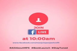 Staytuned for more information...Join tomorrow 10 am FB live   #allaboutMPS #BookLaunch #Statuned  #TGIS #weekend #weekendloading #newness #books #readers #myspace #metime #dedication #SHROFFism #manjulapoojashroff #MPS  https://t.co/AX0l8eOg5O https://t.co/kokGAji4yf