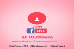 5  Mints to go..  #allaboutMPS #BookLaunch #MPS  Join below fb link  https://t.co/jTMfNFiq2Z https://t.co/S46X1aSck3